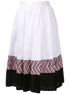 юбка миди с панельным дизайном Jupe By Jackie
