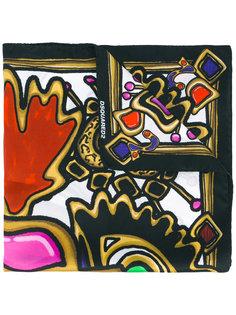 платок с принтом Treasures Dsquared2