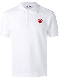 классическая футболка-поло Comme Des Garçons Play