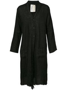 длинное пальто на пкговицах  Horisaki Design & Handel