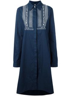 платье с вышивкой Miahatami
