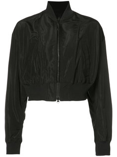укороченная куртка-бомбер Yohji Yamamoto