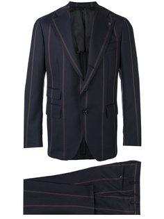 костюм в полоску Gabriele Pasini