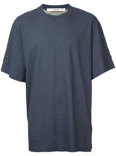 футболка с отделкой люверсами  Damir Doma