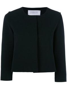 укороченный пиджак с рукавами три четверти Harris Wharf London