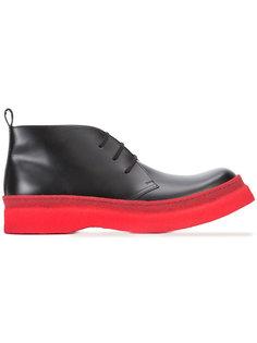 ботинки на шнуровке Comme Des Garçons Homme Plus