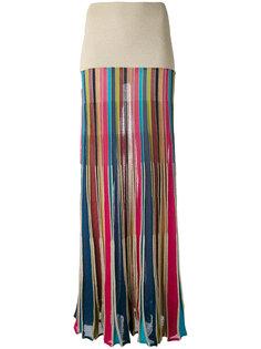 трикотажная юбка макси Twin-Set