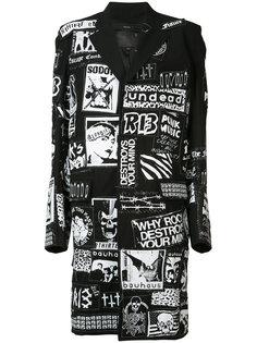пальто с надписями R13