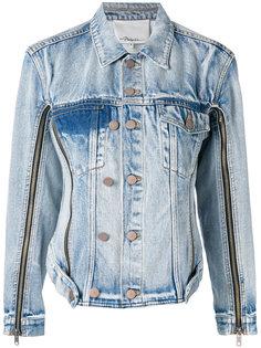 джинсовая куртка с молниями на рукавах 3.1 Phillip Lim