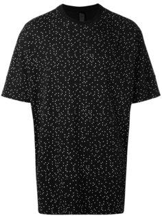 футболка с принтом в горох Odeur