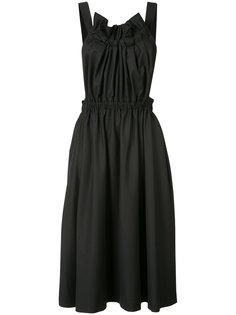 расклешенное платье с лямками крест-накрест Comme Des Garçons Noir Kei Ninomiya