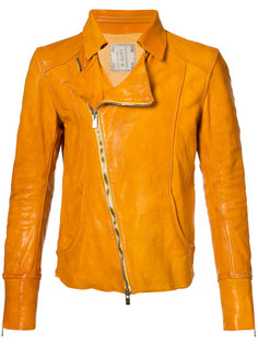 приталенная байкерская куртка Guidi