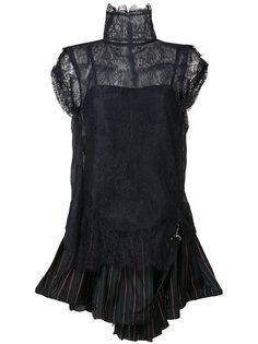 блузка в викторианском стиле Sacai
