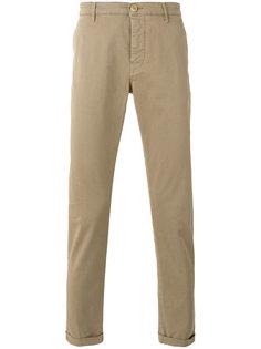 классические брюки чинос с подворотами Pence