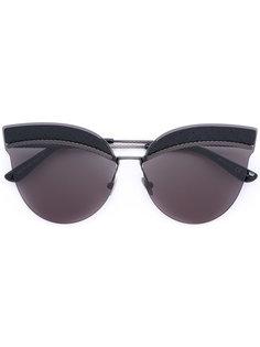 cat eye sunglasses Bottega Veneta Eyewear