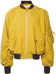 полосатая куртка-бомбер Damir Doma