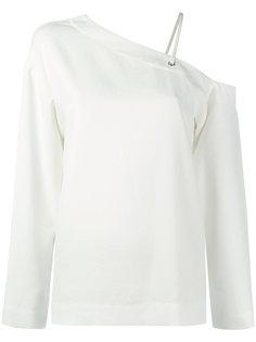 блузка с открытым плечом Nomia