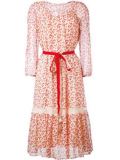 платье с цветочным принтом Max Mara Studio