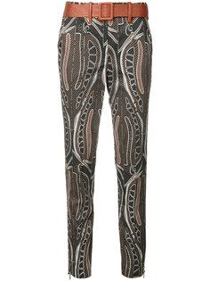 брюки с принтом Pine Cone Sophie Theallet