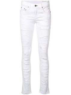 рваные джинсы скинни Brigade Rag & Bone /Jean