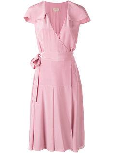 платье с запахом Burberry