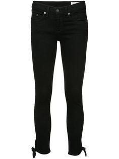 укороченные джинсы супер-скинни Rag & Bone /Jean