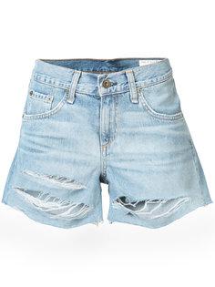 рваные джинсовые шорты Rag & Bone /Jean