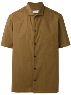 рубашка с косым воротником Lemaire
