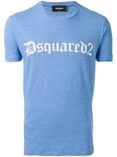 футболка с принтом-логотипом Dsquared2