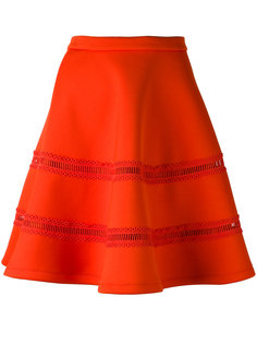 расклешенная юбка из плотной ткани Carven