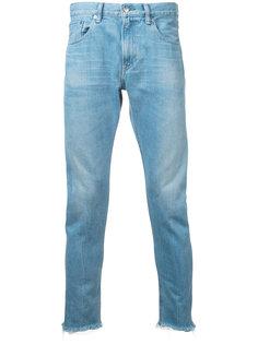 укороченные джинсы с необработанными краями monkey time