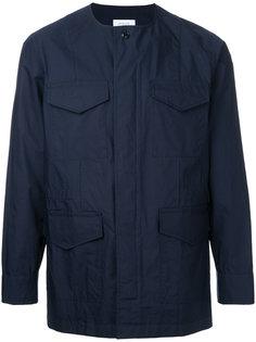 куртка с карманами без воротника En Route