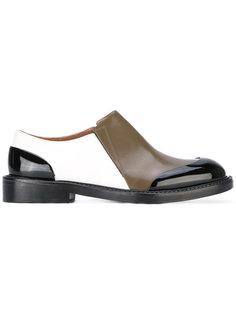 ботинки без застежки Marni
