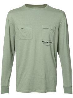 классическая футболка с длинными рукавами Maharishi