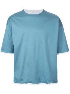 футболка с контрастной отделкой En Route