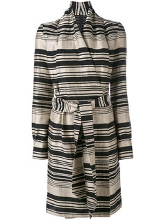 striped belted dress Gareth Pugh