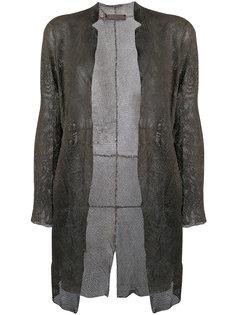 сетчатое пальто Salvatore Santoro