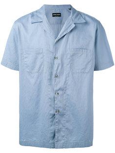 рубашка с накладными карманами Giorgio Armani