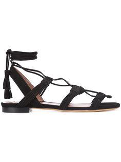 сандалии со шнуровкой Tabitha Simmons