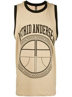 logo print sleeveless T-shirt Astrid Andersen