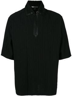 футболка-поло с горловиной на молнии  Y-3