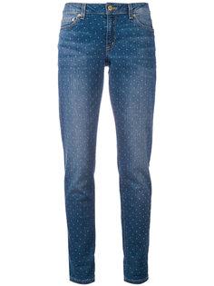 джинсы с узором в горох Michael Michael Kors