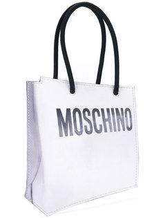 клатч shopper illusion Moschino