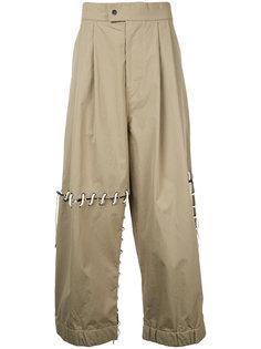 брюки с заниженным шаговым швом Craig Green
