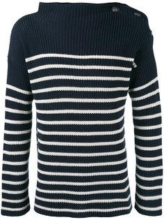 трикотажный свитер в морском стиле Jean Paul Gaultier Vintage