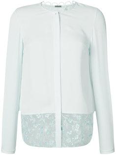 блузка с цветочным узором Elie Tahari