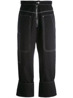 брюки с простроченными панелями Isabel Marant