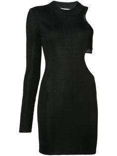 приталенное платье с резным дизайном  Beau Souci