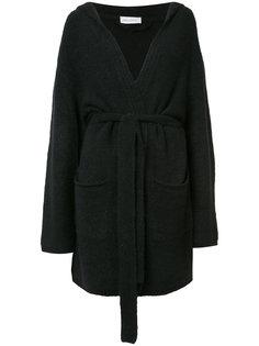 пальто-кардиган с поясом Beau Souci