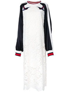 кружевное платье Sukajan Maison Mihara Yasuhiro